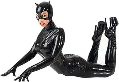 Belldan Disfraz de Catwoman para Mujer Traje de Cosplay de Gato ...