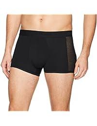 Men's Underwear Body Mesh Trunks