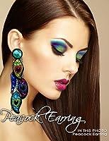 Xotic Eyes Peacock Earrings