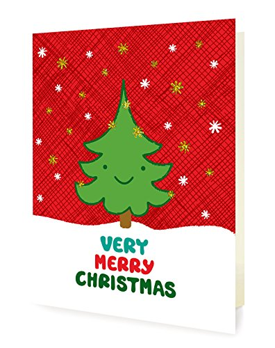 amazon com night owl paper goods happy tree foil stamped holiday