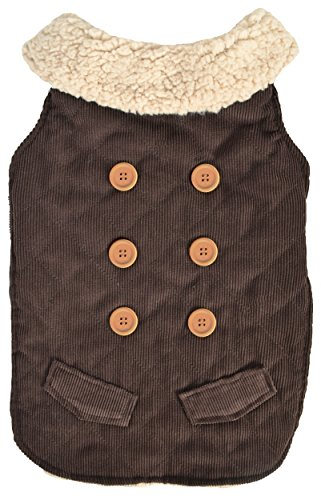Woolrich Pet - Woolrich Dakota Jacket, Corduroy, Large, Brown