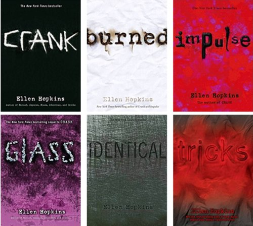 crank ellen hopkins essay That's the topic i tackle in my contribution to flirtin' with the monster, an anthology  of essays about ellen hopkins' novels in verse, crank and glass.