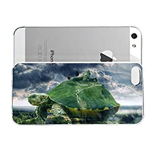Janmaons iPhone 5/5s Case - Digital Art - Small Farm On The 58V7i Turtle Case for iPhone