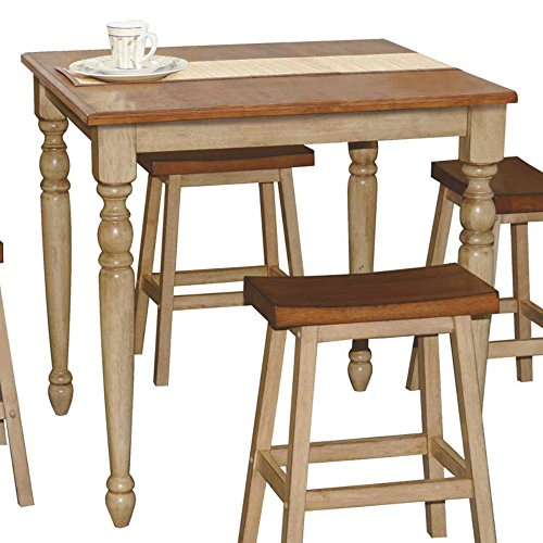 Winners Only Quails Run Counter Height Square Tall Dining Table (Square Dining Tables compare prices)
