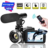 Camcorder Digital Video Camera FHD 1080P 30 FPS Vlogging Camera 30.0 MP Camcorders