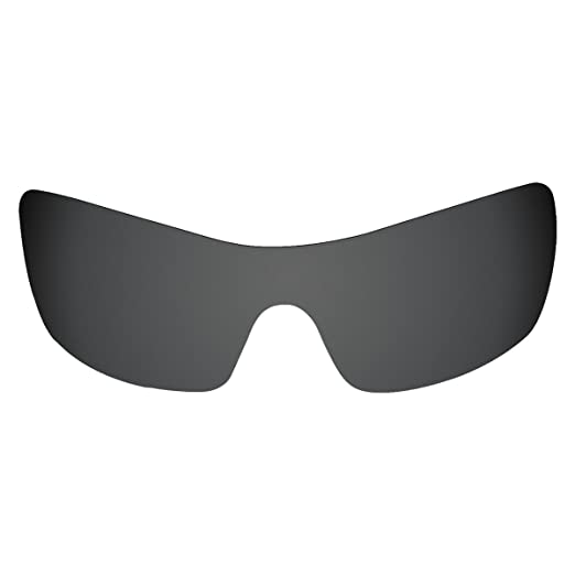48c81d95d7 Amazon.com  Flugger Replacement Lenses for Oakley Batwolf Sunglass -  Polarized Black  Clothing