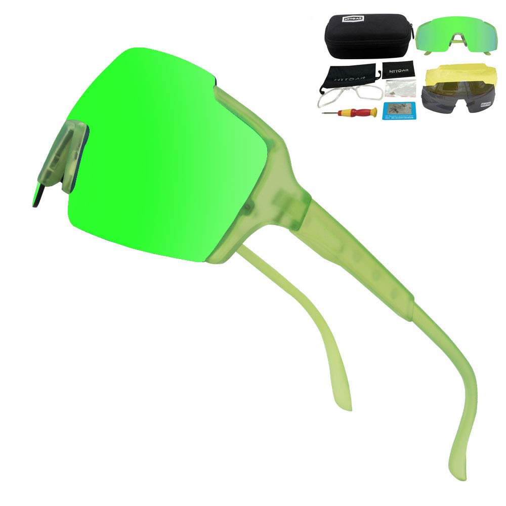 Amazon.com: Gafas de sol deportivas polarizadas HTTOAR para ...