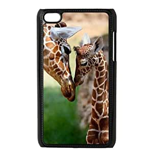 WJHSSB Phone Case Giraffe,Customized Case For Ipod Touch 4