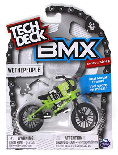 Tech Deck BMX Series 9 WETHEPEOPLE Light Green Finger Bike - 20103168