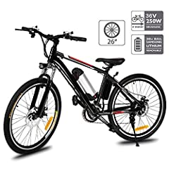Ultra Lightweight Material The E-Bike adopts 100% aluminum alloy frame, the front fork is made of high-strength carbon steel and packed with premium comfort shock absorption.  Brake & Gear Shift System  With front and rear disc brakes and...