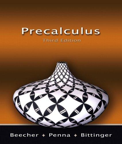 Precalculus (3rd Edition)