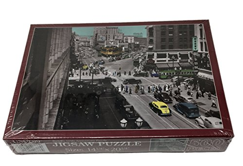 Bartell's 125th Anniversary Jigsaw Puzzle - 500 - Downtown Stores Seattle