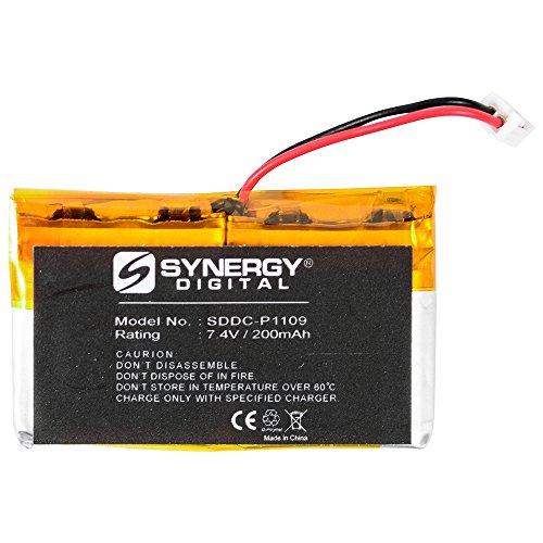 SportDOG SD-1825 Trainer Receiver Dog Collar Battery (Li-Pol, 7.4V, 200 mAh) Battery - Replacement for SportDOG SAC00-12544 Battery