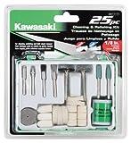 kawasaki buffer polisher - Kawasaki 841117 Cleaning and Polishing Kit, 25-Piece