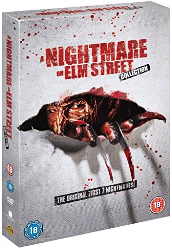 Nightmare on Elm Street Complete All Movies Film Collection DVD [8 Discs] Box Set Part 1, 2, 3, 4, 5, 6 + 7 +...