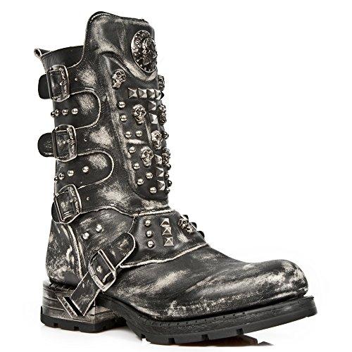 mr019 Black s2 M Para Hombre Botas Rock New Camperas xnCE4