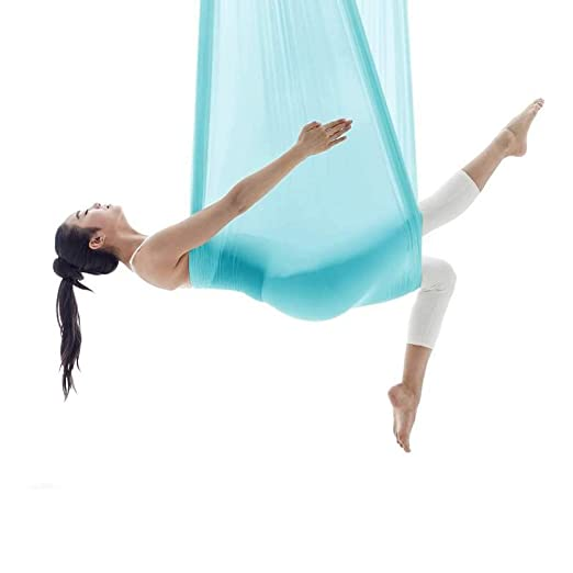 NFNFUNNM Yoga Hamaca Estiramiento Aéreo Yoga Columpio ...
