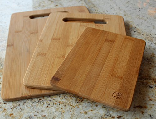 Totally Bamboo 3 Piece Bamboo Cutting Board Review 4