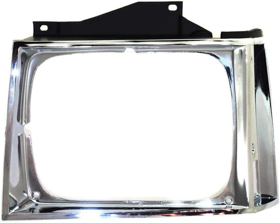 Evan-Fischer EVA18972056867 Headlight Door for Chevrolet C20 81-82 RH and LH