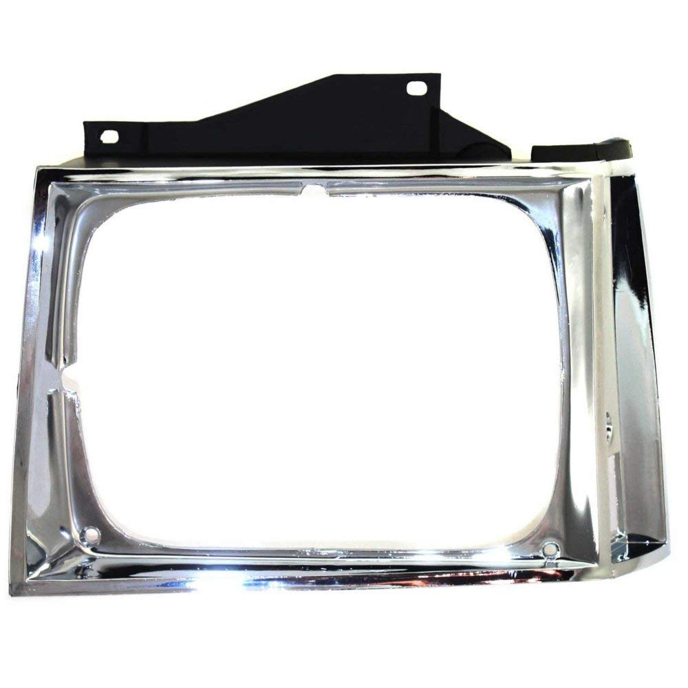 Headlight Door for Chevrolet S10 Pickup 82-90 Chrome Left Side