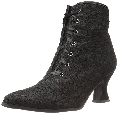 Ellie Shoes Women's 253-Elizabeth Ankle Bootie, Black, 9 M -
