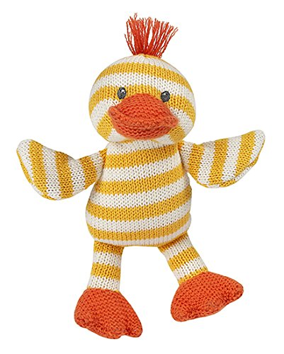 Maison Chic Quackers The Duck Knit - Rattle Duckie