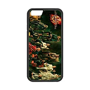 Hunger Games Catching Fire Cell Phone Protector for iPhone 6(4.7) Plastic and TPU (Laser Technology)