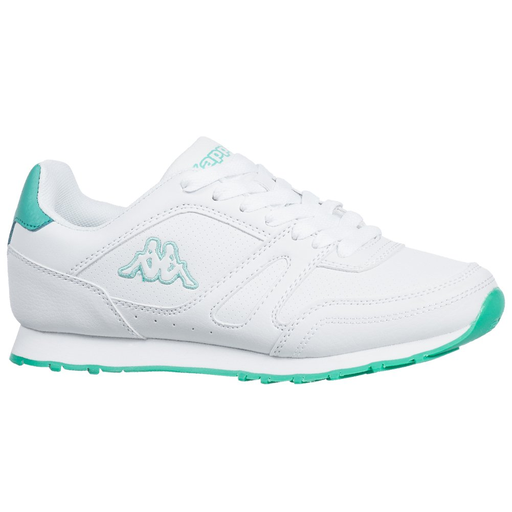ce574783 Kappa Womens New Annanes Trainers in White Green