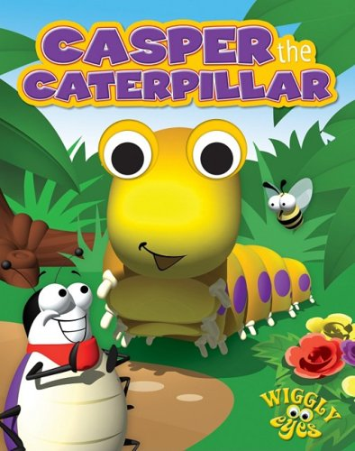 Casper the Caterpillar (Wiggly Eyes) - Edited by Hinkler Books