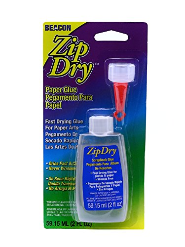 Beacon Zip Dry Paper Glue 2 oz. [PACK OF 2 ]]()