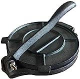 Premium Grade-8 inch Cast iron tortilla press.Tortilla maker,comes pre-seasoned in Black.