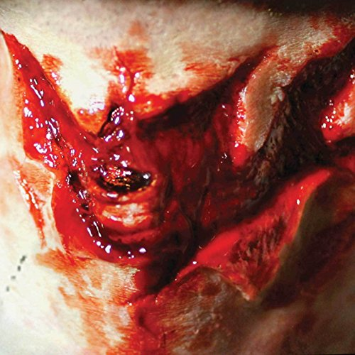 Tinsley Transfers SORE THROAT / Throat Slash - Film Quality Realistic 3D Prosthetic Makeup FX Transfer. Apply With Water. for $<!--$22.41-->