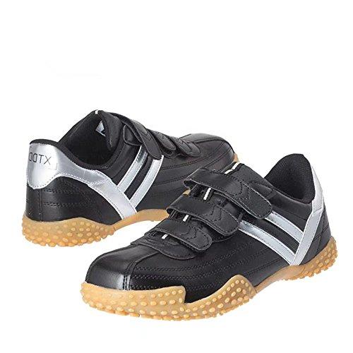 DDTX noir SB Anti-effondrement antidérapant Chaussures de sécurité en acier léger en acier