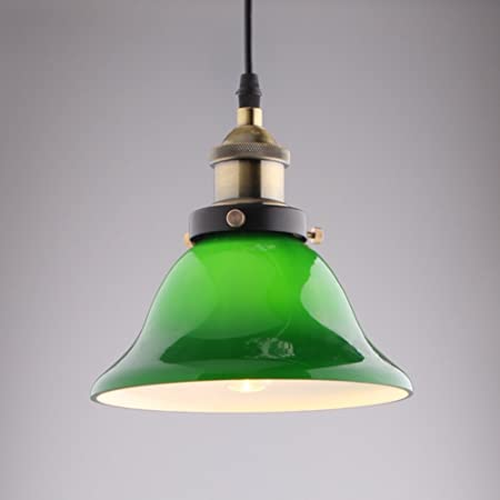 Jiayoujia vivid emerald green glass retro pendant light e27 60w jiayoujia vivid emerald green glass retro pendant light e27 60w large aloadofball Image collections