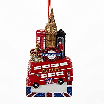 Amazon.com: French Eiffel Tower Acrylic Christmas Ornament: Home ...