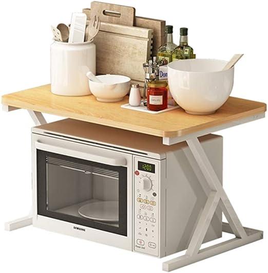 Estantes de horno de microondas de 2 niveles/cocina Estantes de ...