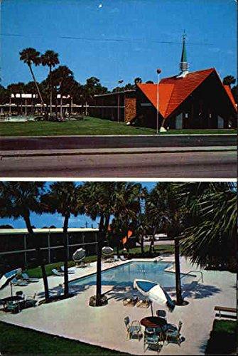(Howard Johnson's Motor Lodge and Restaurant Vero Beach, Florida Original Vintage Postcard)