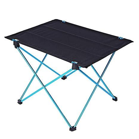 Lzdingli Mesa de Camping Plegable DK - 1 Mesa Plegable de aleación ...