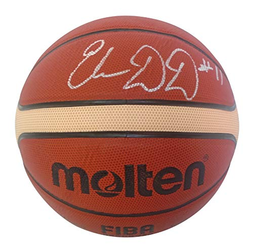 Washington Mystics Elena Delle Donne Autographed Hand Signed FIBA Molten Basketball with Proof Photo Signing, Team USA, United States, Chicago Sky, Delaware Fightin Blue Hens, Connecticut Huskies, COA