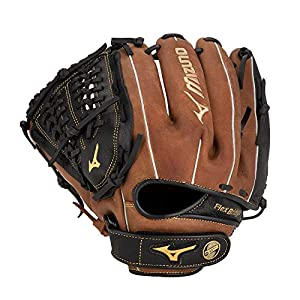 "Mizuno GPSL1150BR Prospect Select Series Infield/Pitcher Baseball Gloves, 11.5"", Left Hand Throw"