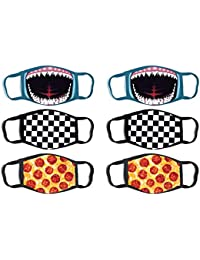 Boys' Reusable Protective Fashion Face Masks (6 Pack)