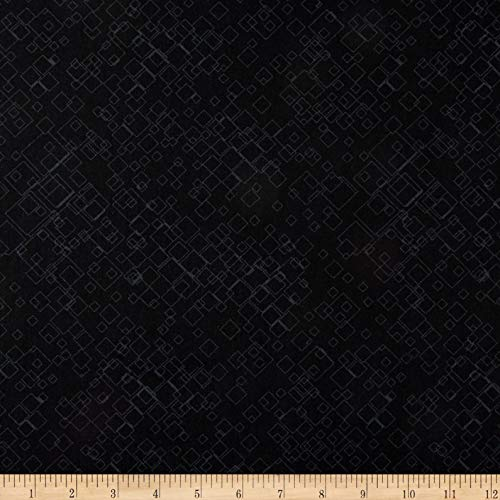 - Benartex Cat-I-tude 2 PurrFect Together Tonal Squares Black, Fabric by the Yard