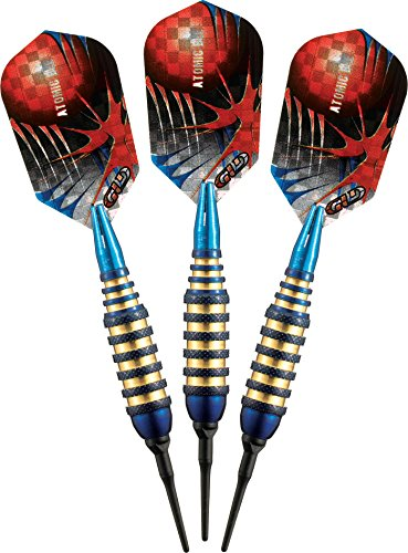 Viper Atomic Bee Soft Tip Darts, Blue, 16 Grams