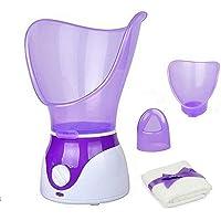 Facial Steamer Professional Steam Inhaler Facial Sauna Spa for Face Mask Moisturizer - Sinus with Aromatherapy; Pores…