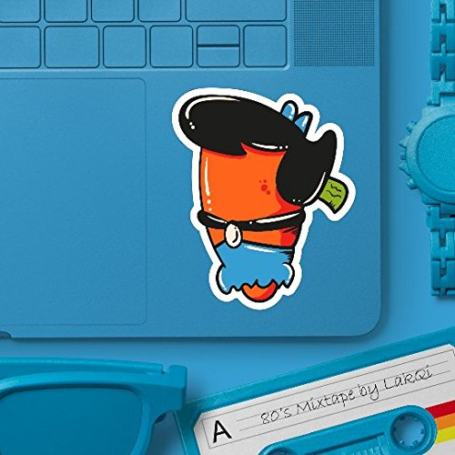 Betty Rubble Flintstones Carrot Sticker Set - 5
