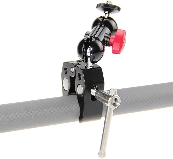 Camvate Rohr Clip Halterung Mit Super Clamp Und 360 Kamera