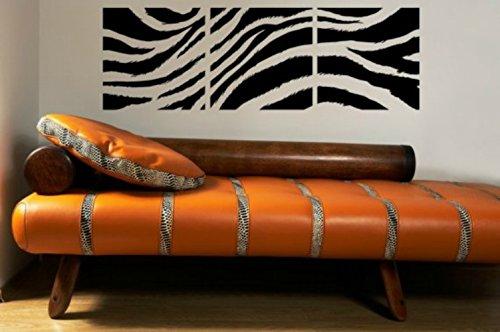 Amazon.com: Hollywood Regency Decor, Zebra Print Wall Decal, Zebra ...