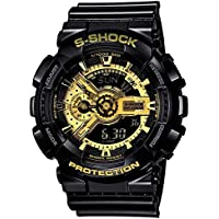 Xotak Analogue - Digital Multi-Functional Stainless Steel Dual Time Outdoor Golden Dial Sports Watches for Mens and Boys