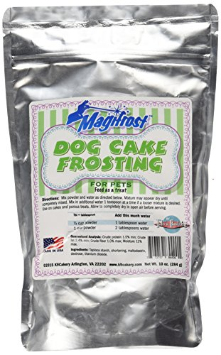 Supreme Frosting (K9Cakery Magi Frost Frosting for Dog Cake, 9 by 6 by 3