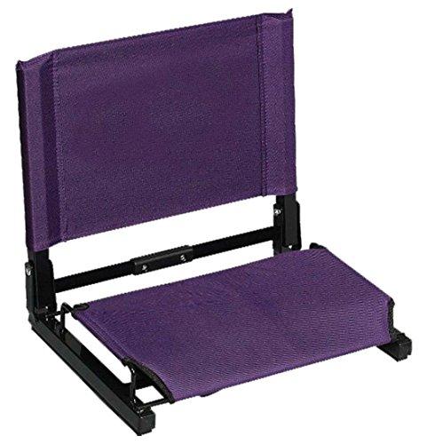 Purple Stadium - The Stadium Chair Game Changer Stadium Chair, Purple